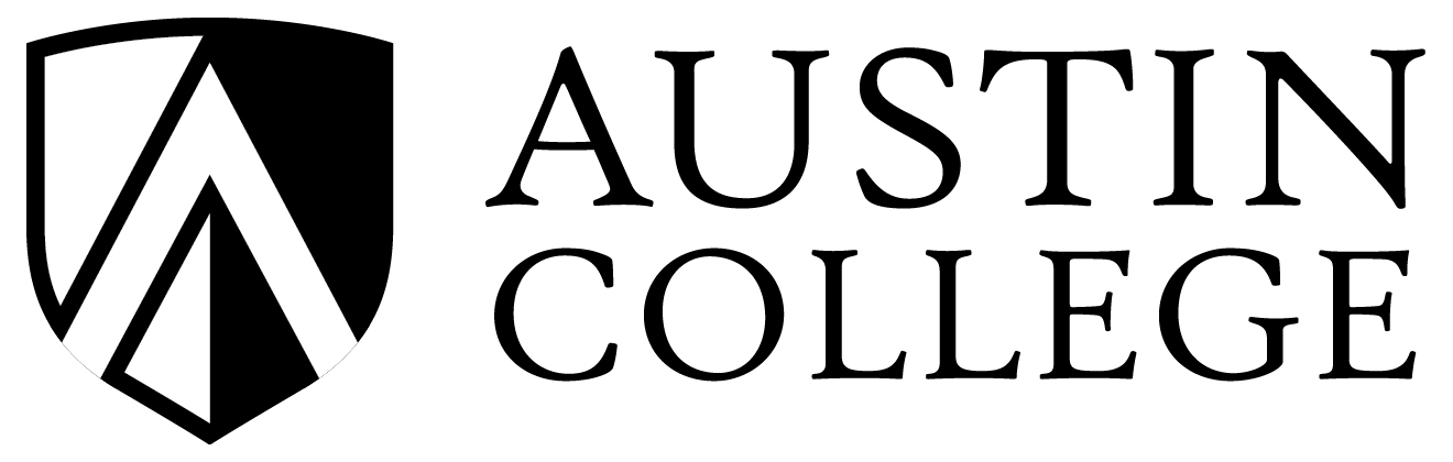 Austin College Black & White Logo