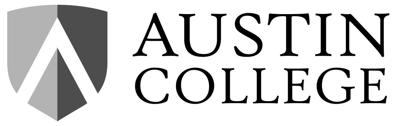 Austin College Gray Scale Logo