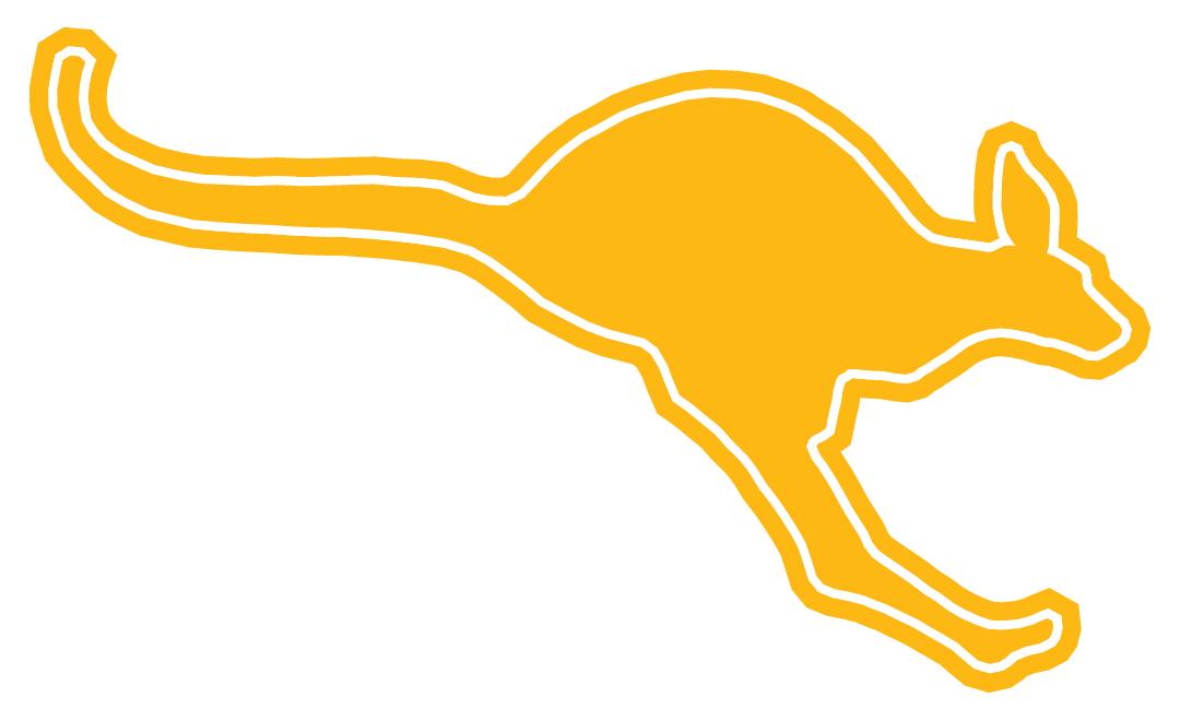 Athletics Kangaroo Gold