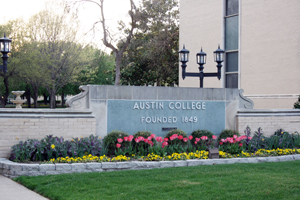 Austin College Sign