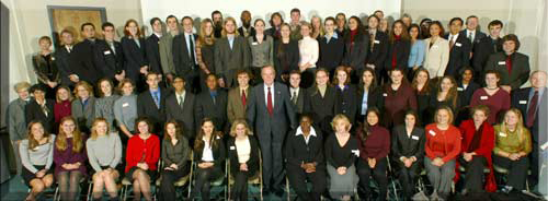 Posey Leadership Institute with George Bush