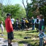 GreenServe 2012 Volunteers at Eisenhower State Park