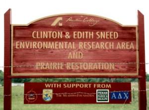 envs Sneed sign 300x222 Prairie Field Trips
