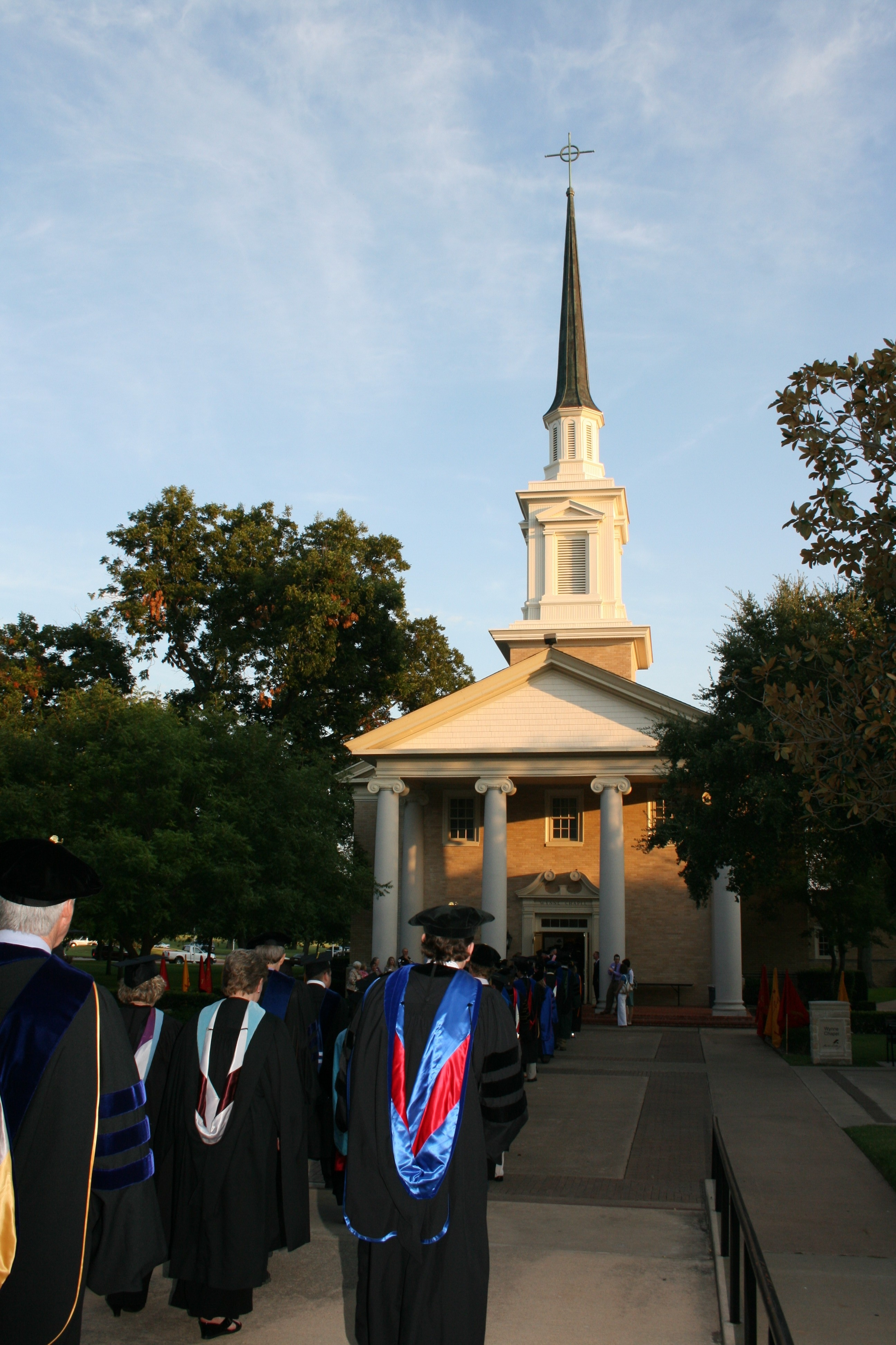 Opening Convocation at Wynn Chapel