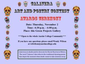 Calavera Awards 2017