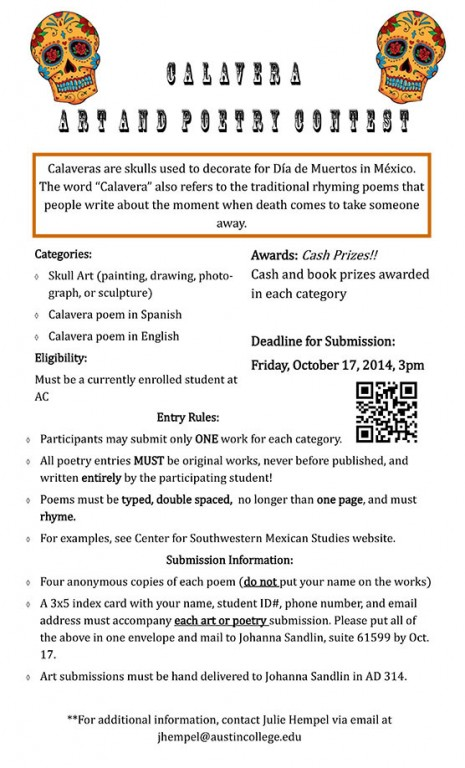 Calavera Contest 2014