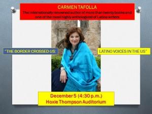 Carmen Tafolla Lecture