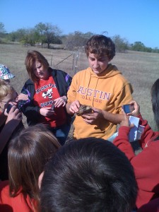 Finding wildlife with Tal Kinser at Sneed Prairie