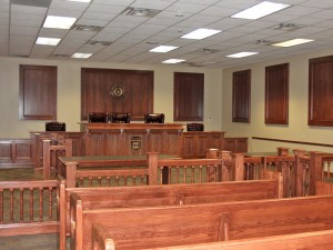 Austin College Mock Trial Courtroom
