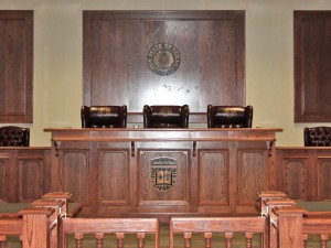 Austin College Courtroom
