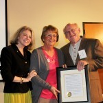 Dr. Marjorie Hass, Peggy Redshaw, Jerry Lincecum