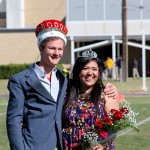 Newt Cunningham and Stefany Cruz crowned 2014 Homecoming King and Queen