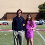 Grant Marcinko and Sophia Hernandez