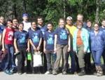 GreenServe Students Volunteer in Community