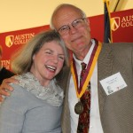 Dr. Marjorie Hass and John Asbury