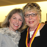 Dr. Marjorie Hass and Teena Roberts Baylow