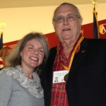 Dr. Marjorie Hass and Ned Benson