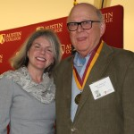 Dr. Marjorie Hass and Harry Bilger