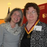 Dr. Marjorie Hass and Sue Hellmers Bobo