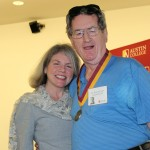 Dr. Marjorie Hass and Roy Bobo