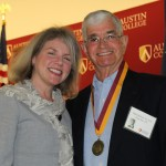 Dr. Marjorie Hass and Mike Burkett