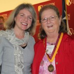 Dr. Marjorie Hass and Karen Webster Burkett