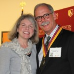 Dr. Marjorie Hass and Jeff Caswell