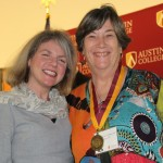 Dr. Marjorie Hass and Frances Coats Cerbins