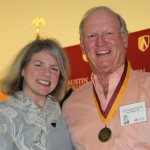 Dr. Marjorie Hass and Ted Chapman