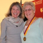 Dr. Marjorie Hass and Nancy Hill Davis
