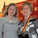 Dr. Marjorie Hass and Kathy Smiley Duax