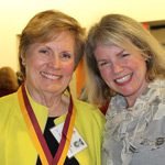 Betsy Dennis Forster and Dr. Marjorie Hass