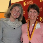Dr. Marjorie Hass and Ann Henderson Hunt