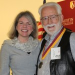 Dr. Marjorie Hass and Gary John