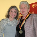 Dr. Marjorie Hass and Frances Bronson Lewis