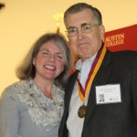 Dr. Marjorie Hass and Bill McLeRoy