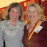 Dr. Marjorie Hass and Sue Loper Monroe