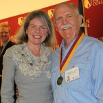 Dr. Marjorie Hass and Todd Morriss