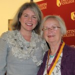Dr. Marjorie Hass and Kathy Browe Morriss