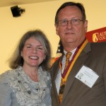 Dr. Marjorie Hass and Paul Pearce