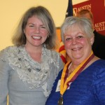 Dr. Marjorie Hass and Elizabeth Johnson Pense