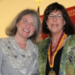Dr. Marjorie Hass and Mary Jimen Phillips