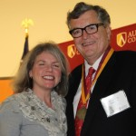 Dr. Marjorie Hass and Jim Rolfe