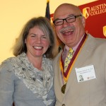 Dr. Marjorie Hass and Thomas Schmid