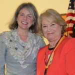 Dr. Marjorie Hass and Marilyn Smith Scott