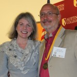 Dr. Marjorie Hass and Jeff Scott
