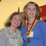 Dr. Marjorie Hass and Patricia Pierce Shropshire