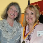 Dr. Marjorie Hass and Evelyn Jacoby Scurry