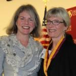 Dr. Marjorie Hass and Paulette Martin Setzer
