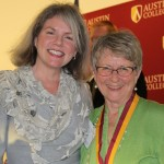 Dr. Marjorie Hass and Nancy Wilhite Simpson